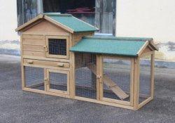 Extraíble en el hogar de madera maciza mascota Casa Nueva casa de la cría de conejos jaula almacenamiento