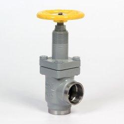 Dn20 - Tipo valvola di angolo dell'acciaio di getto Dn150 di globo dell'ammoniaca