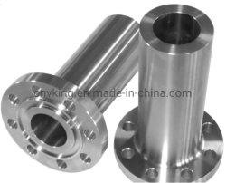 ASME B16.5 الفولاذ المقاوم للصدأ Steel الفولاذ المقاوم للصدأ A105 RF 5 في شفة عنقه اللعنفة عند اللحام بطول Dn125