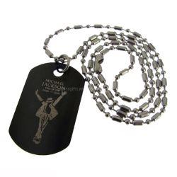 Custom металлические гравировка машины металлический шарик Xvideos Xvideos военной цепочки из анодированного алюминия Dog Tag