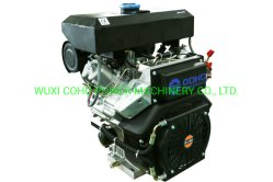 23HP CD2V92f 2 シリンダ空冷式ディーゼルエンジン電動始動
