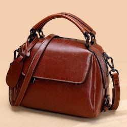 جديدة [جنوين لثر] سيدات حقيبة يد متأخّر إتجاه إمرأة حقيبة بيع بالجملة جلد بقر سعر