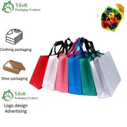 Umweltfreundlich Recyclingfähig Biologisch Abbaubar Kundenspezifische Druck Logo Werbeartikel Nicht Gewobene Beutel PP nicht gewobene Verpackung Bagfashion Laser-Einkaufstasche Faltbar Öko-Lebensmittelgeschäft