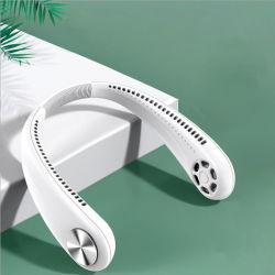 Hochwertige elektrische USB tragbare Hände frei blattlose Fans Halsband Kopfhörer Mit Hals Mini Bladeless Fan