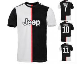 Lieu Soocer 2019/2020 de la Juventus Football Chemises T Shrit Jersey uniforme