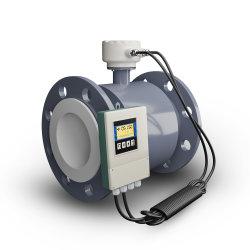 디지털 RS485 아날로그 배수장치 물 전자 자석 유량계 변환기