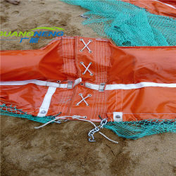 Flact PVC solide des barrages flottants d'huile pour River/Mer