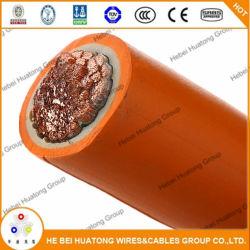Câble de soudage rouge noir 2/0AWG du fil de cuivre Câbles solaires de voiture de la batterie