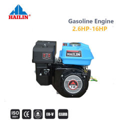 Надежность и производительность 7HP Электрический пуск бензиновый двигатель (170F) HL210 2100cc с EPA сертификат