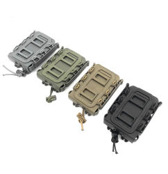 Tactical 5,56&7.62 Fastmag prendedor para cinto Plastic Molle Airsoft Bolsa 9mmpistol Revista Mag suporte caixa de munições