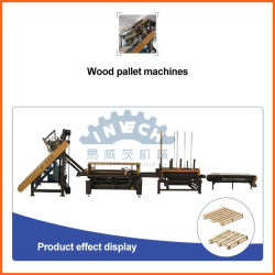 Automatische Houten Pallet die Machine voor EU/USA Pallets maken