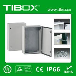 2019 Tibox una sola puerta de acero del Gabinete de distribución de montaje en pared
