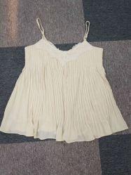 Commerce de gros et de haute qualité personnalisés femmes chemise tissé