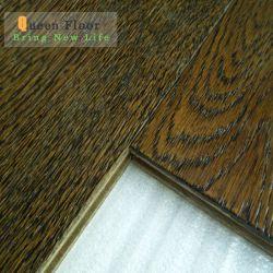 Pavimentazione composita afflitta impermeabile laminata poco costosa della superficie di legno del lino della pavimentazione 12mm