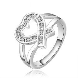 Мода украшения 925 серебряные кольца AAA CZ Micro параметр