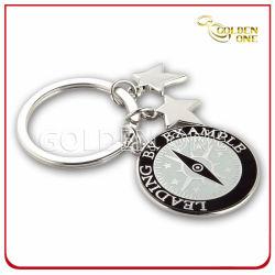 حلقة مفاتيح معدنية للراميل الناعم الترويجية مع السحر