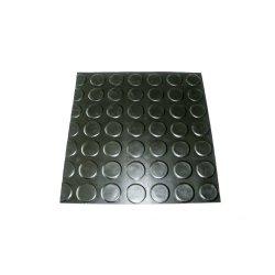 Anti Slip Round Dot Rubber Flooring For Garage