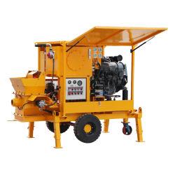 De hete Concrete Pomp van de Aanhangwagen van de Dieselmotor van de Verkoop met Gediplomeerd Ce