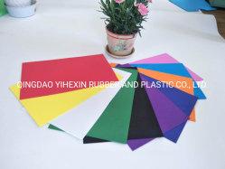 EVA EVA ecológica colorida llanura de la hoja de papel de la elaboración de espuma EVA