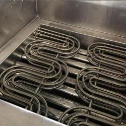 Macchina profonda elettrica di frittura automatica della friggitrice del gas