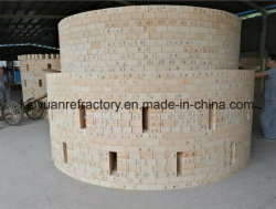 High Alumina Brick vuursteen vuursteen vuursteen voor de staalindustrie