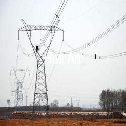 직류 전기를 통한 Angualr 강철 탑 전력 수송