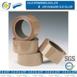 Nastro acrilico dell'imballaggio del Brown per l'imballaggio industriale della casella