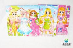 Papel para impressão colorida de alta qualidade placa rígida Puzzle