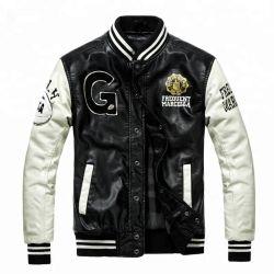 Высокое качество индивидуального дешевые марки Varsity Леттермана Колледж хлопка Baseball Jacket
