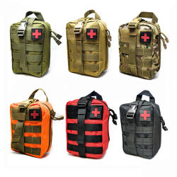Outdoor Chasse tactique pochette d'urgence médicale First Aid Kit bag