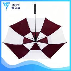 Дополнительное поле для гольфа зонтик двойной корпус вентилируемого квадратных автоматический разрыв
