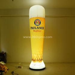 Aangepaste Beer Simulation-fles voor promotie, weergave, reclame ECT