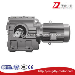 Transmissões industriais da série S com motor eléctrico de worm helicoidal para o Transportador