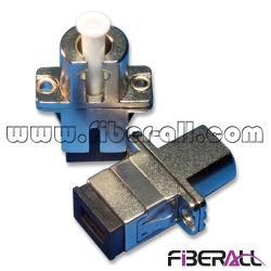 Hybride adaptateur fibre optique LC à SC Sx Sm Metal