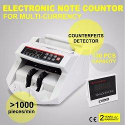 2108b Fabricado na China de boa qualidade com função inteligente do contador de dinheiro, dinheiro Detector Detector falsificado