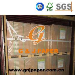Documento di derivazione riciclato bianco dei taccuini G/M2 della polpa 60 in strato