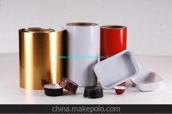 Material de embalaje envase PET de lámina de aluminio