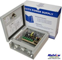4CH 12V4a 50W waterdichte CCTV-voedingskast
