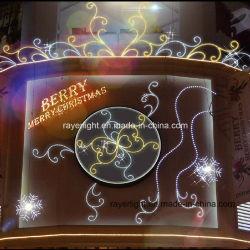 Onde del grand motif d'éclairage Néon de Lumière LED de décoration de Noël Flex