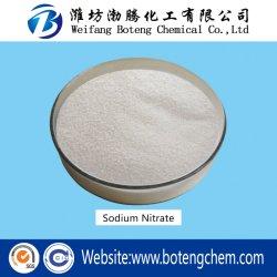 25kg/50kg/500kg/1000kg blanco comprimida 99,3%Min Nano3 Nitrato de sal de sodio como agente decolorante