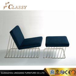 Zwei Farben-Wagen-Aufenthaltsraum mit Osmanen für Garten-Wohnzimmer-Freizeit-Stuhl