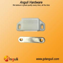 Loquet magnétique blanc en plastique et porte du cabinet d'aspiration High-Strength aimant