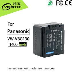 7.4V 1400mAh Digital Lithium-Ionkamera-Batterie VW-Vbg130 für Panasonic-Kamerarecorder-Kamera