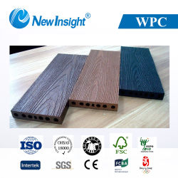 Le grain de bois dur Outdoor WPC Flooring