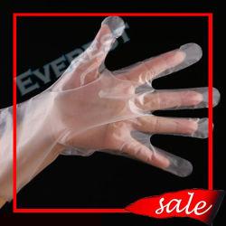 Пластмассовые/полиэтилен/полимерная/HDPE/LDPE/CPE/PE одноразовые перчатки для медицинских и хирургических