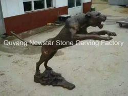 装飾のための芸術の置物の青銅の動物の彫刻