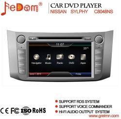 شاشة TFT LCD تعمل باللمس قياس 8 بوصات نظام الملاحة GPS لقرص DVD للسيارة نظام Nissan Sylphy مع Bluetooth+Radio+iPod+Video