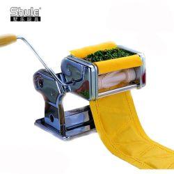 Acero inoxidable Manual pequeña máquina de hacer fresco Samosa