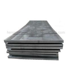 Los materiales de construcción A516GR60 GR70n 16mo3 acero al carbono de la caldera de placa de acero dulce y el vaso la placa de acero Chapa metálica
