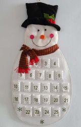 Produits Delton estimé Snowman compte à rebours de Noël Calendrier de l'Avent en tissu